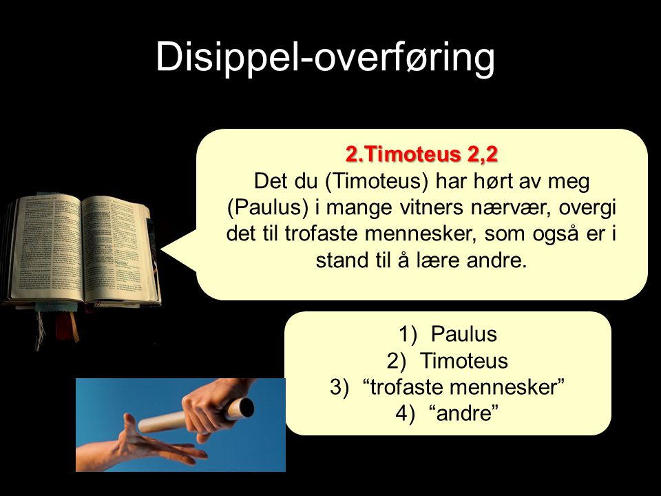 Disippel-overføring 2.Timoteus 2,2