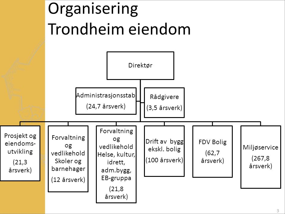 Organisering Trondheim eiendom