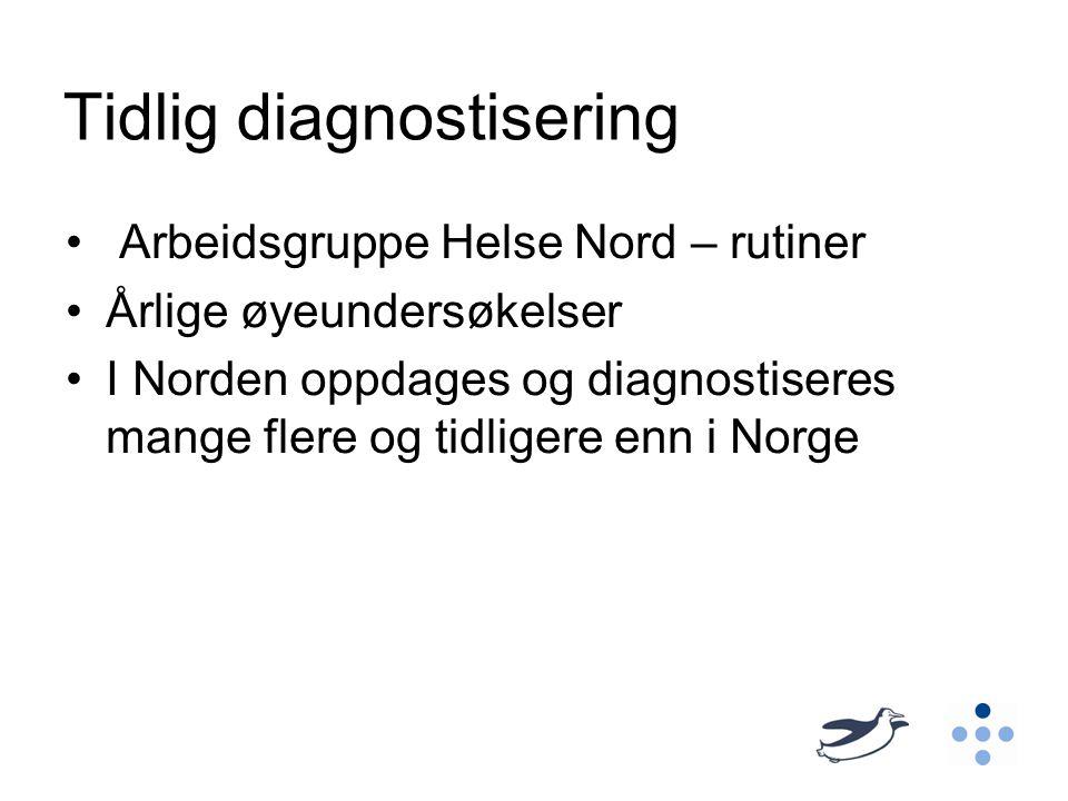 Tidlig diagnostisering