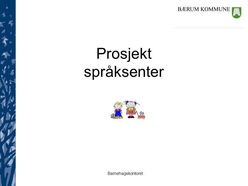 Prosjekt språksenter