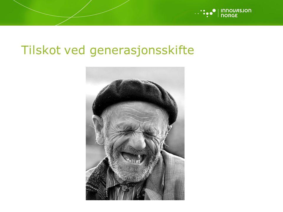 Tilskot ved generasjonsskifte