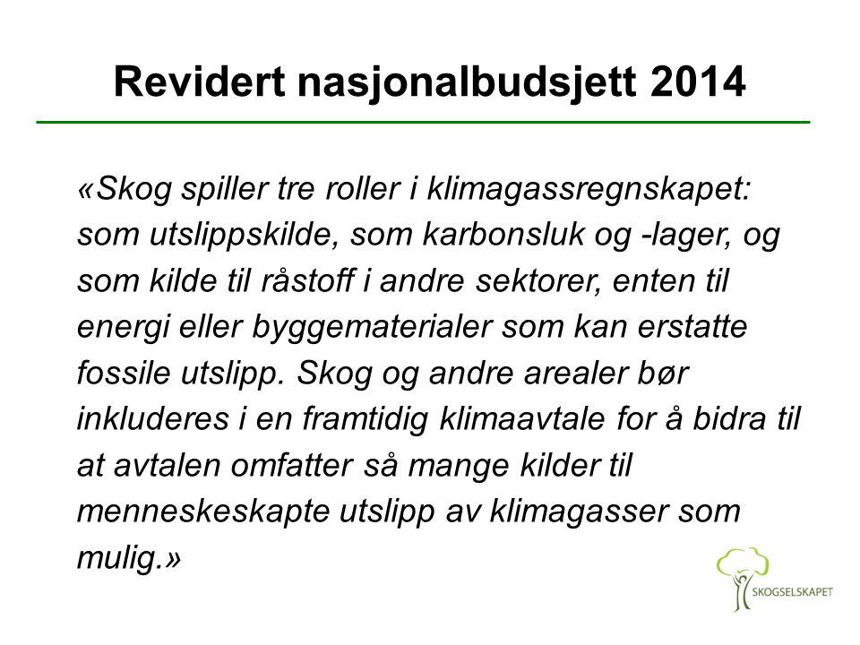 Revidert nasjonalbudsjett 2014