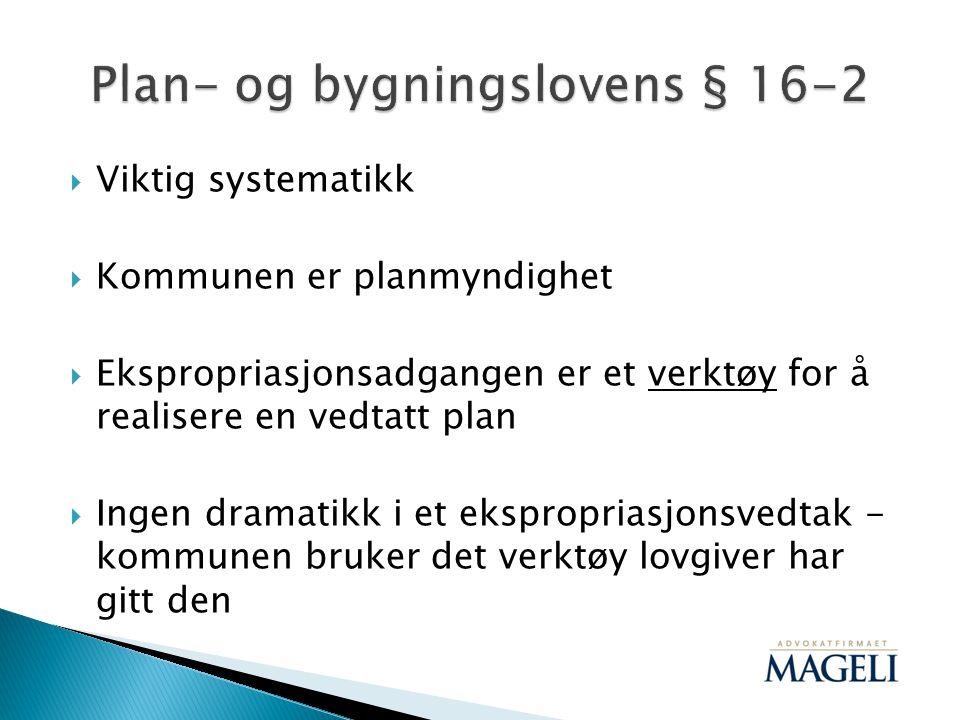 Plan- og bygningslovens § 16-2
