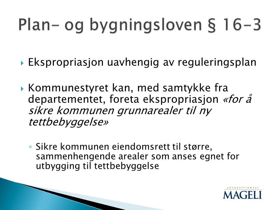 Plan- og bygningsloven § 16-3