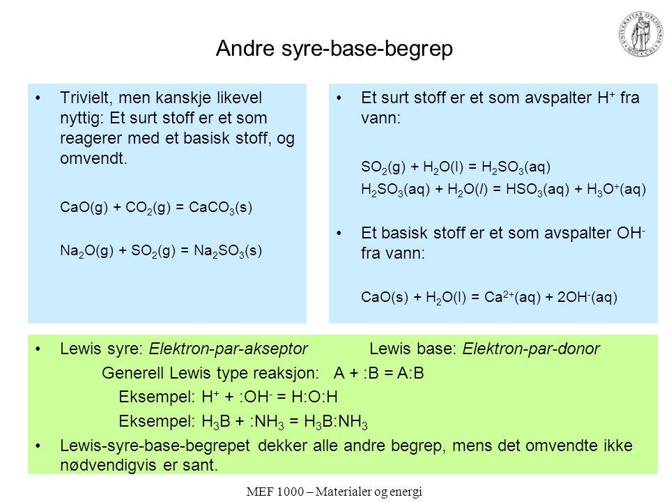 Andre syre-base-begrep