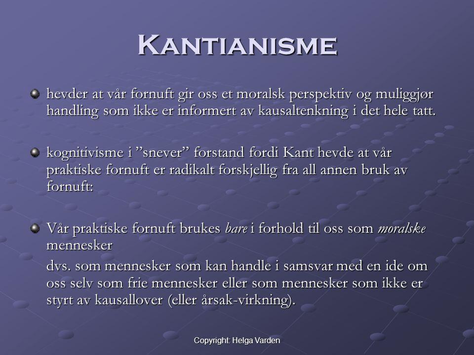 Copyright: Helga Varden