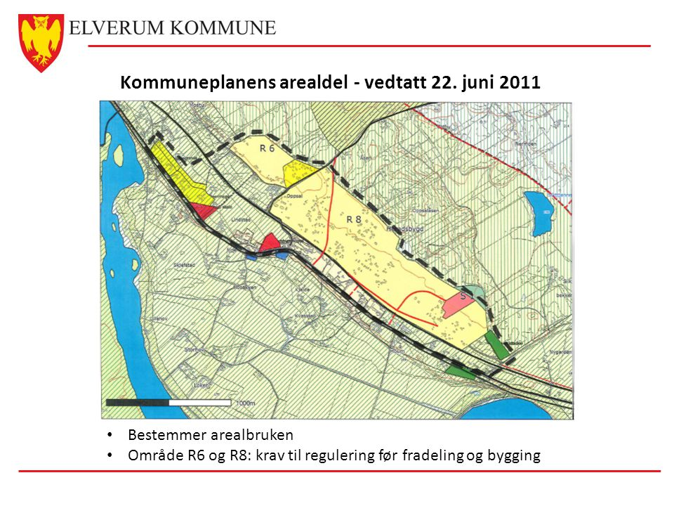Kommuneplanens arealdel - vedtatt 22. juni 2011