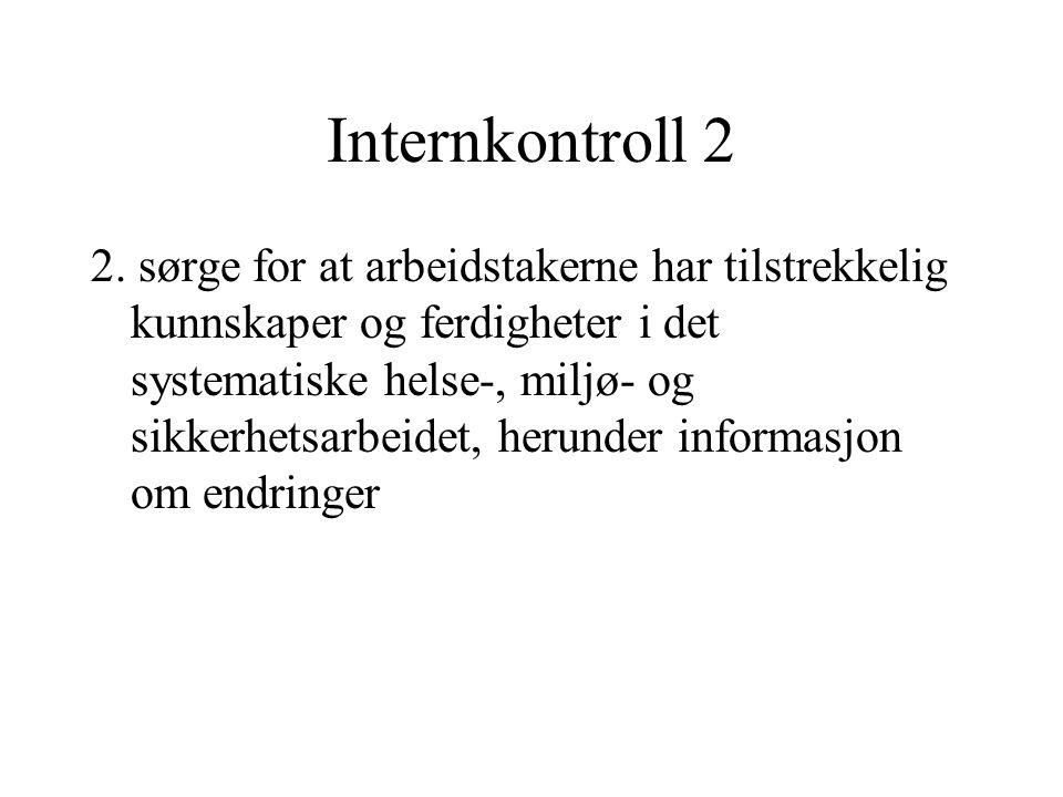 Internkontroll 2