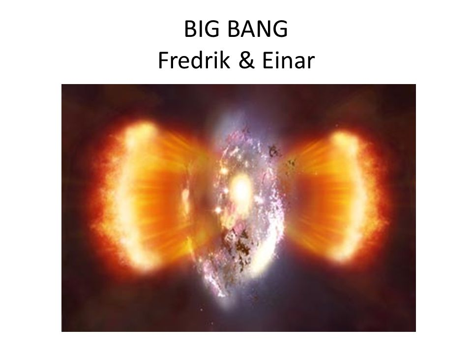 BIG BANG Fredrik & Einar