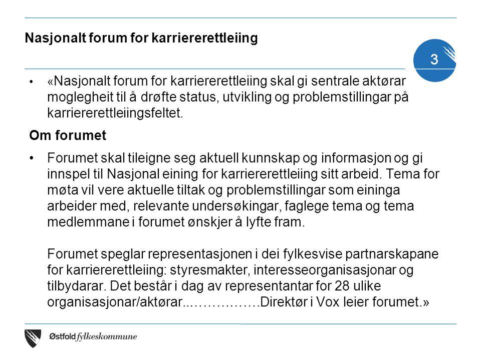 Nasjonalt forum for karriererettleiing