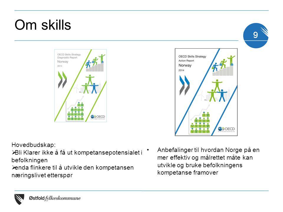 Om skills Hovedbudskap: