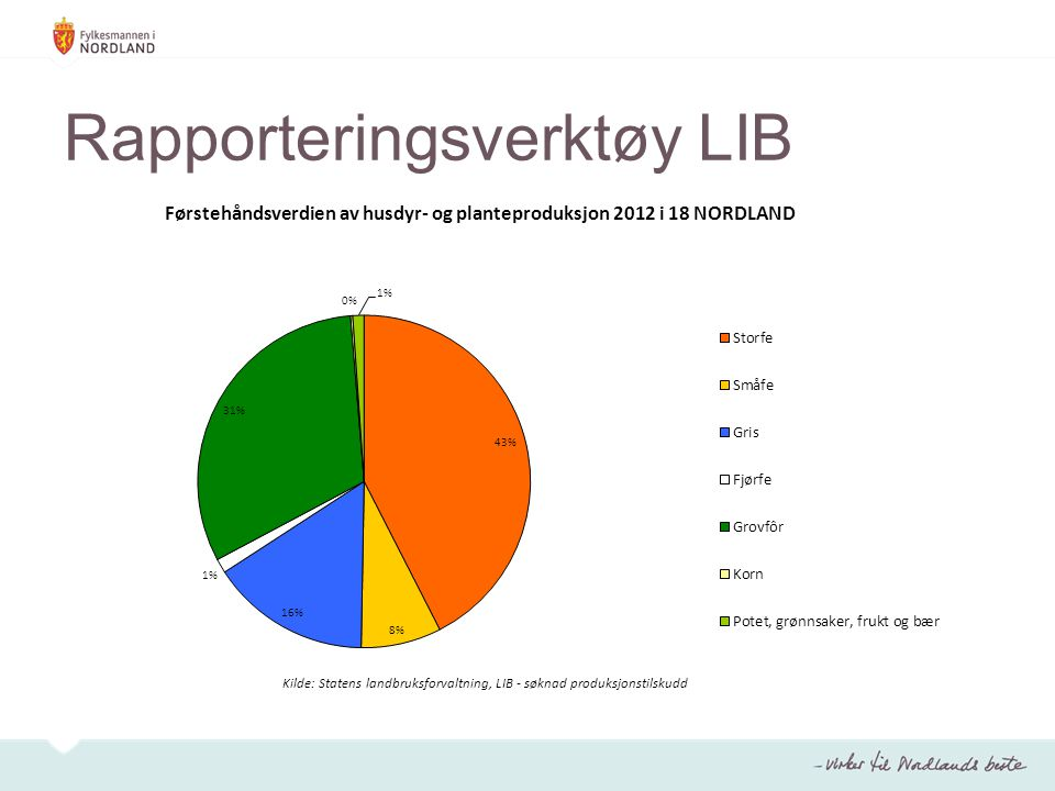 Rapporteringsverktøy LIB