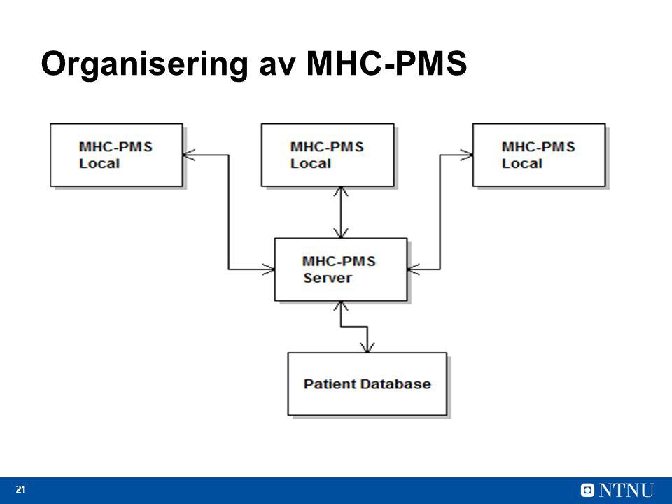 Organisering av MHC-PMS
