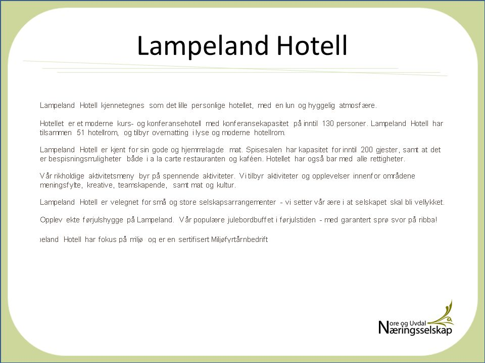 Lampeland Hotell