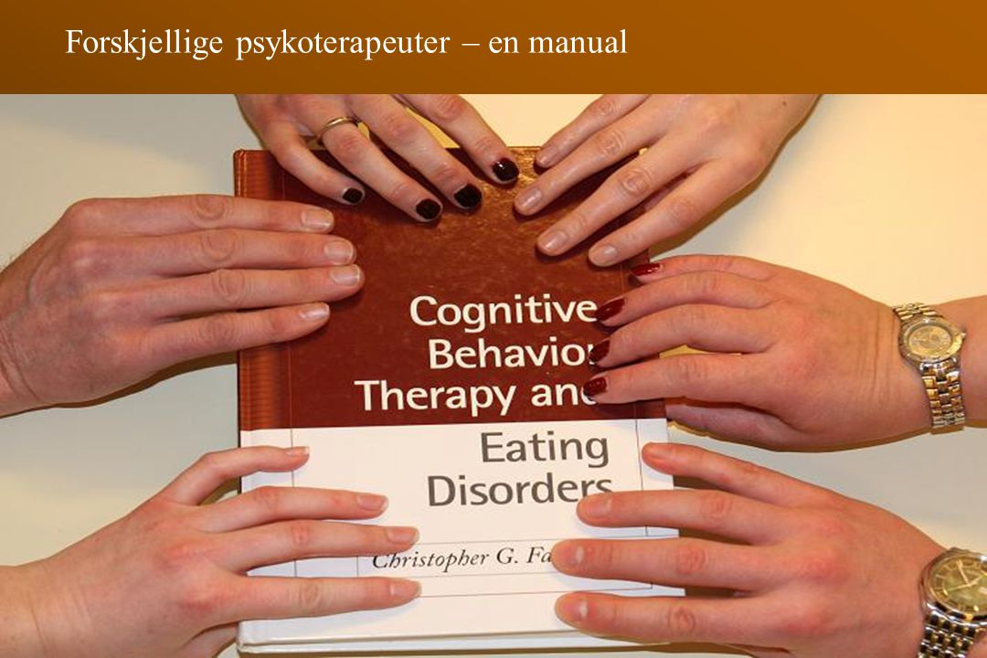 Forskjellige psykoterapeuter – en manual