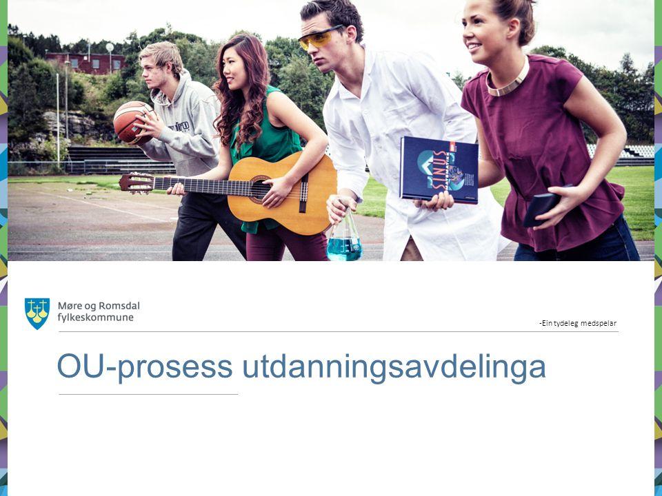 OU-prosess utdanningsavdelinga