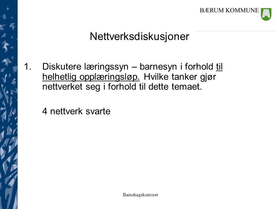 Nettverksdiskusjoner