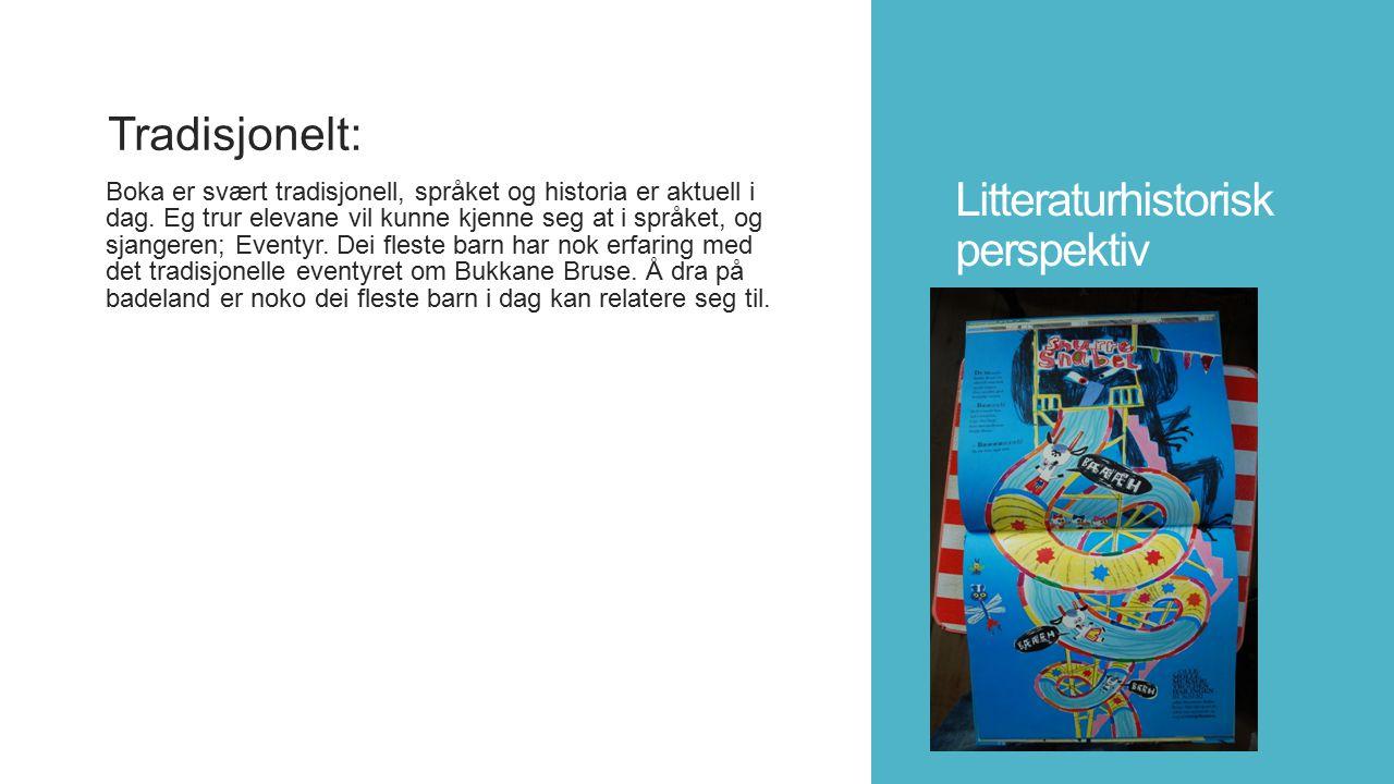 Litteraturhistorisk perspektiv