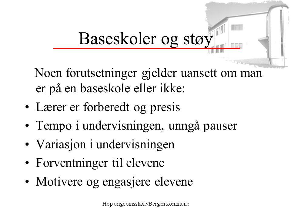 Hop ungdomsskole/Bergen kommune