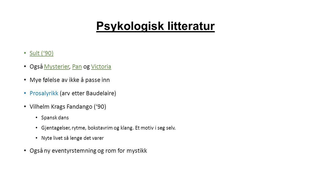 Psykologisk litteratur