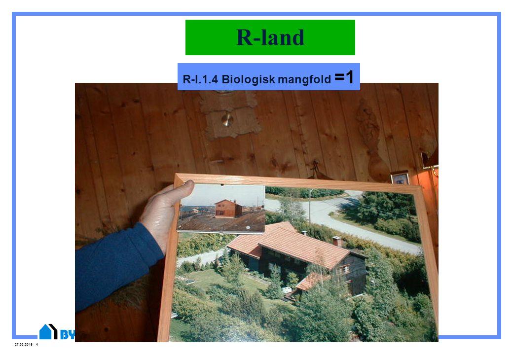 R-l.1.4 Biologisk mangfold =1