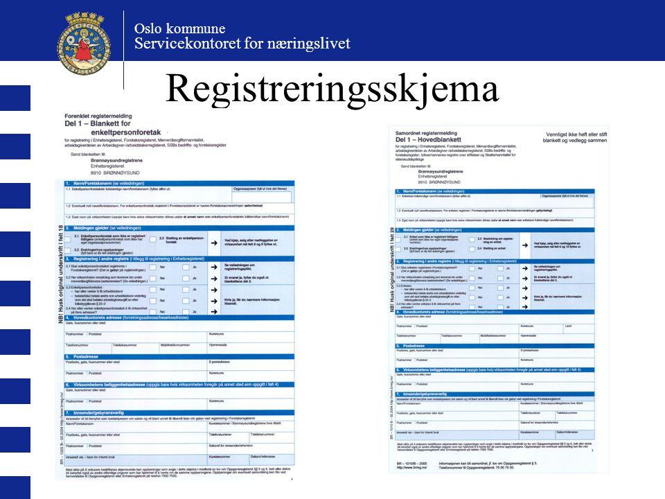 Registreringsskjema