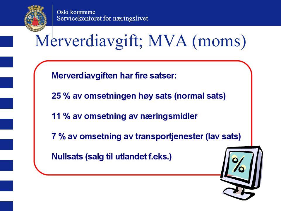 Merverdiavgift; MVA (moms)