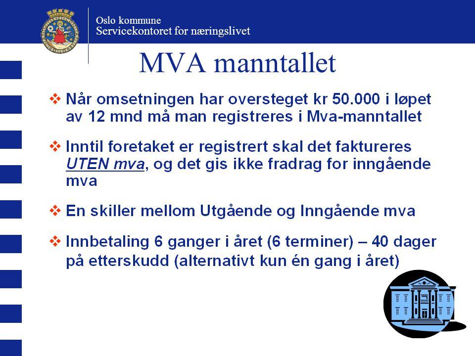 MVA manntallet