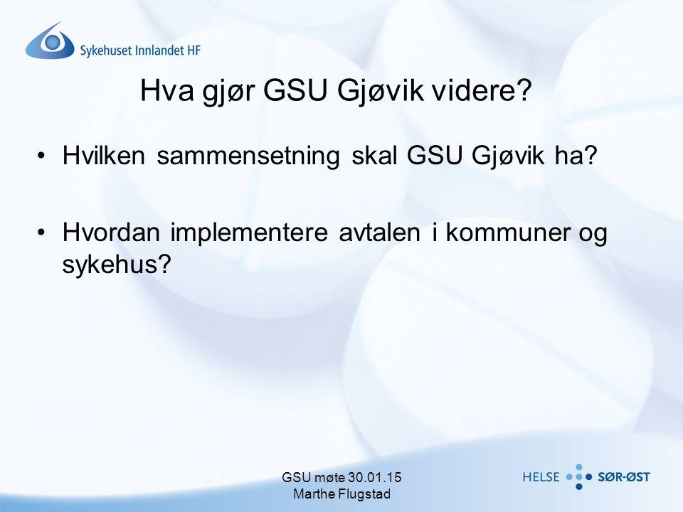 Hva gjør GSU Gjøvik videre