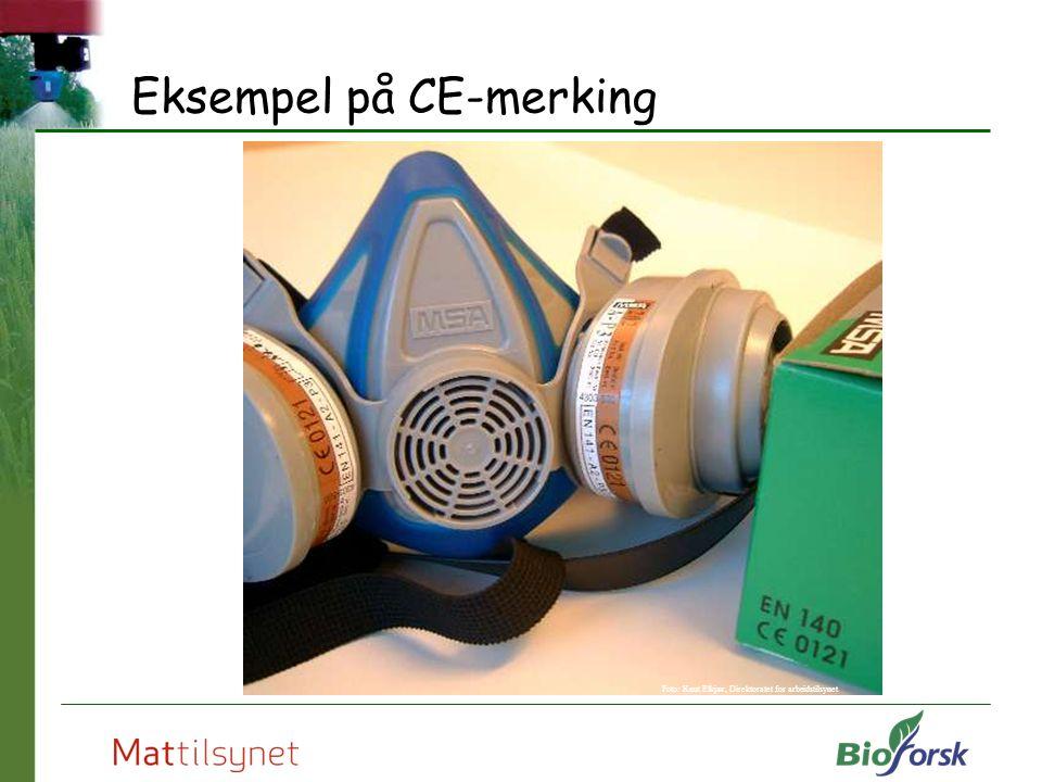 Eksempel på CE-merking