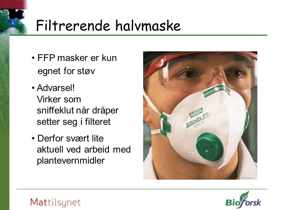 Filtrerende halvmaske