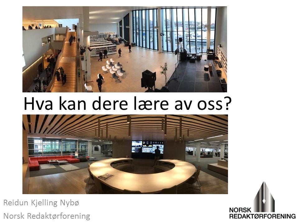 Reidun Kjelling Nybø Norsk Redaktørforening