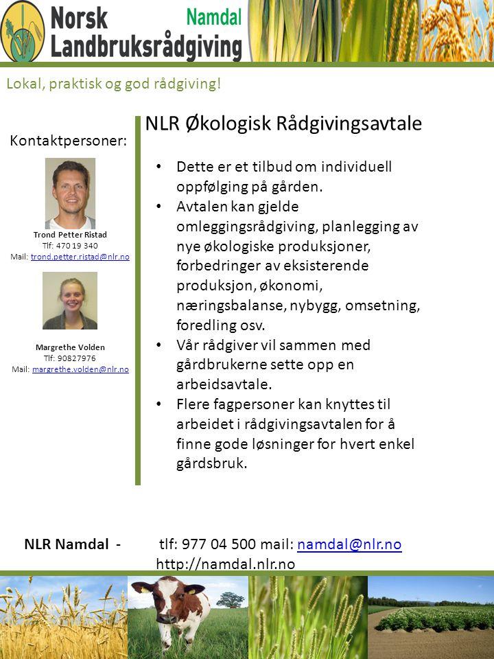 NLR Økologisk Rådgivingsavtale