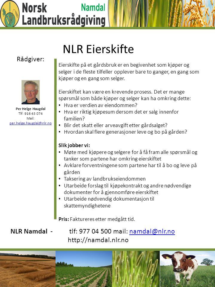 NLR Eierskifte Rådgiver: