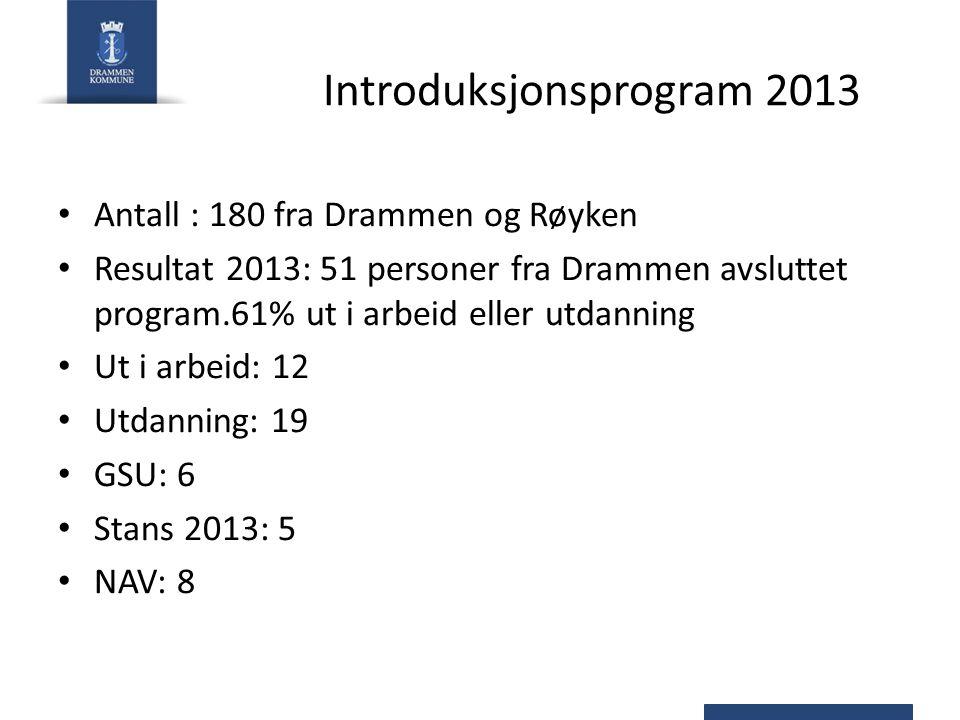Introduksjonsprogram 2013