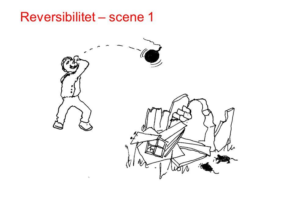Reversibilitet – scene 1