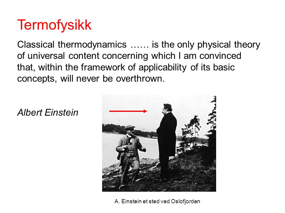 Termofysikk