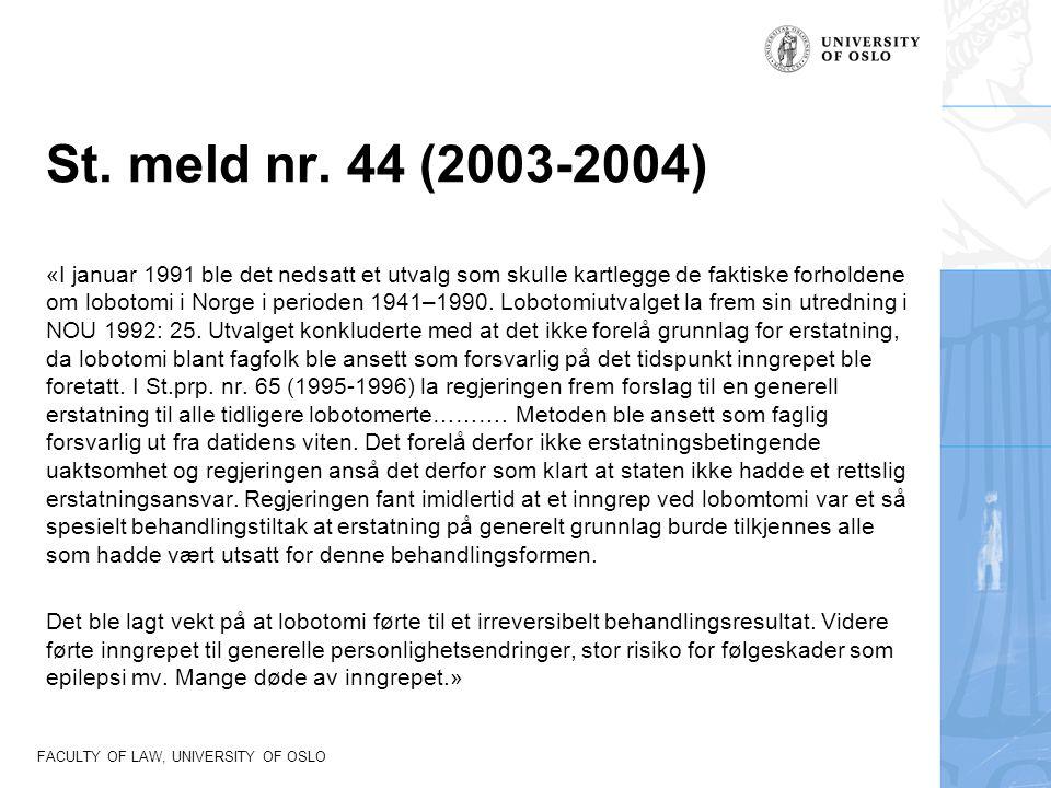 St. meld nr. 44 (2003-2004)