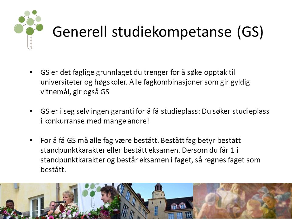 Generell studiekompetanse (GS)