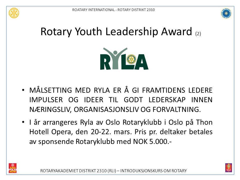 Rotary Youth Leadership Award (2)