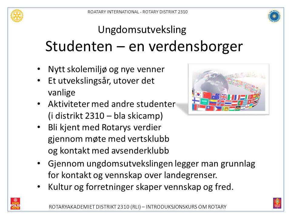 Ungdomsutveksling Studenten – en verdensborger