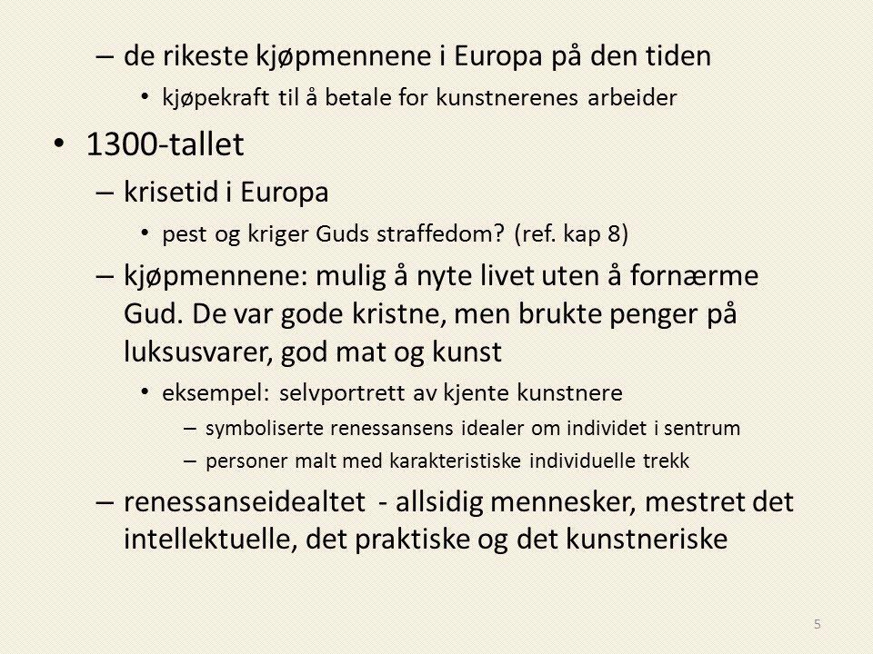 1300-tallet de rikeste kjøpmennene i Europa på den tiden