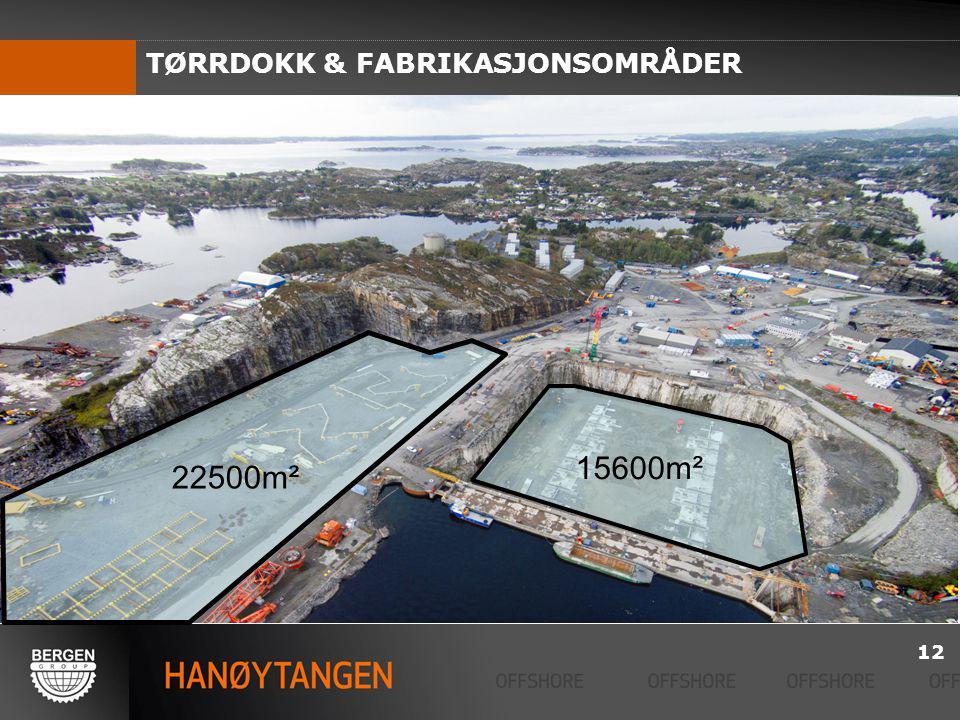 TØRRDOKK & FABRIKASJONSOMRÅDER