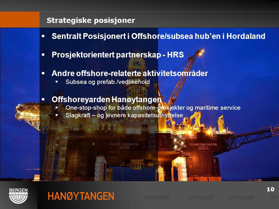 Sentralt Posisjonert i Offshore/subsea hub'en i Hordaland