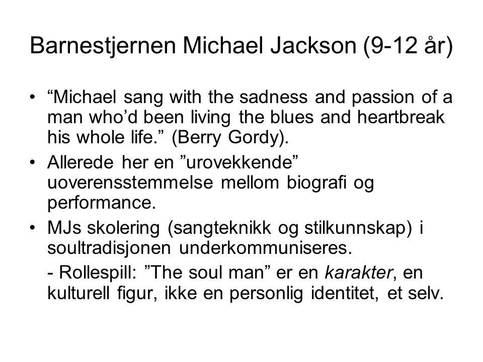Barnestjernen Michael Jackson (9-12 år)