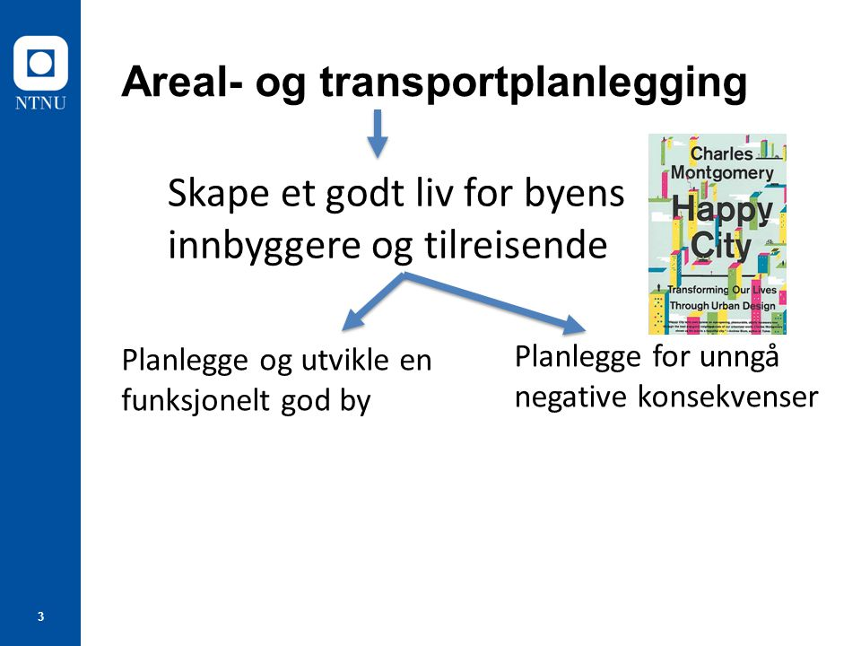 Areal- og transportplanlegging