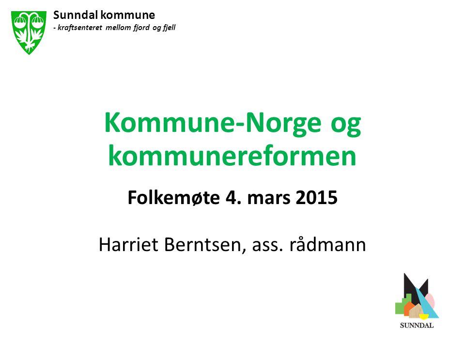Kommune-Norge og kommunereformen