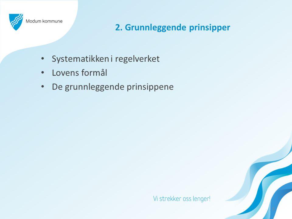 2. Grunnleggende prinsipper