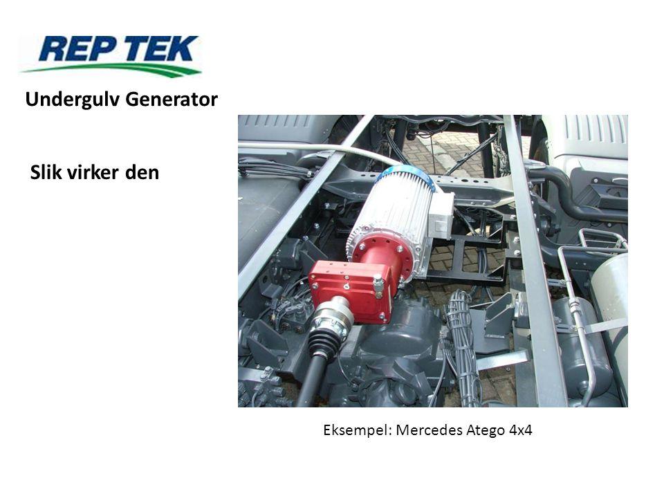 Undergulv Generator Slik virker den Eksempel: Mercedes Atego 4x4