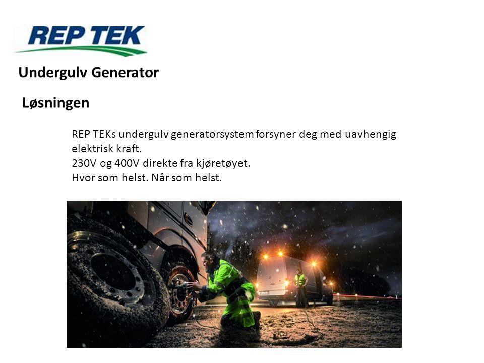 Undergulv Generator Løsningen